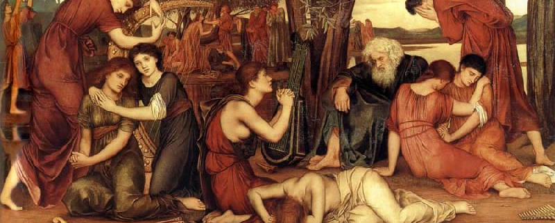Evelyn De Morgan, By the Waters of Babylon