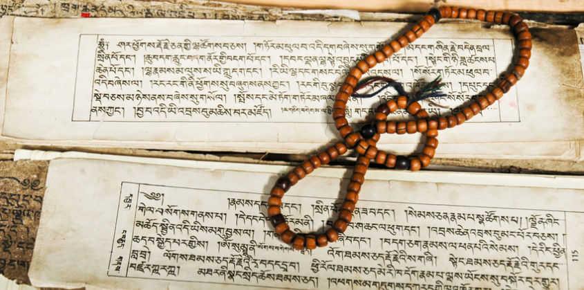 Sanskritmantras mit Mala