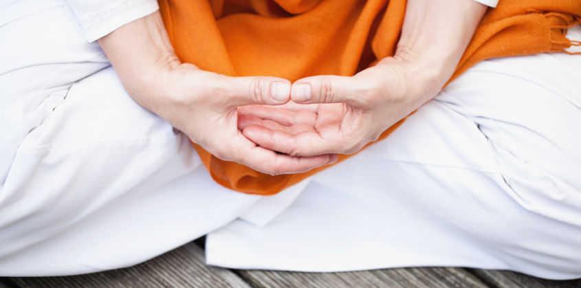 Meditationshaltung, Hände, Mudra
