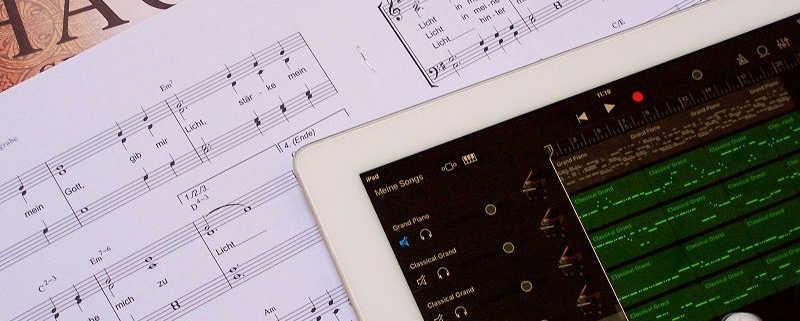 Titelbild Werkzeug (Noten, iPad)